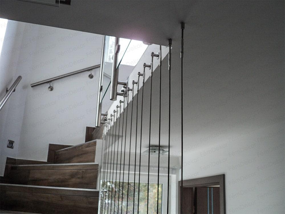 Sodrony térkitöltés lépcsőhöz